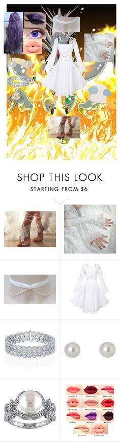 """""""Mai Himeko"""" by missbrat ❤ liked on Polyvore featuring Givenchy, Miadora and NYX"""