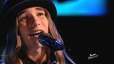 """The Voice 2015 Sawyer Fredericks - Top 10: """"Iris"""""""