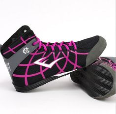 Here are Miguel Cotto's custom shoes for his upcoming fight on Saturday! We love his choice of Pink!