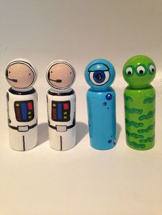 Space Peg Dolls