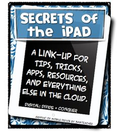 Secrets of the iPad! A tons of tips, tricks, and lessons for the classroom to engage EVERY learner! Teaching Technology, Educational Technology, Technology Tools, Iphone Information, Ipad Hacks, German Language Learning, Spanish Language, French Language, Iphone Hacks