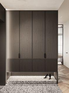 Дизайн интерьера Wardrobe Door Designs, Wardrobe Design Bedroom, Wardrobe Doors, Closet Designs, Cl Design, Foyer Design, Home Room Design, Corridor Design, Design Ideas
