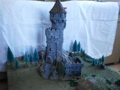 Pringle Tower Wargame dnd scale 0.28