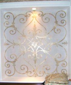 55 Inspiring Ideas for Frosted Bathroom Window Glass - About-Ruth Bathroom Window Glass, Window In Shower, Bathroom Windows, Etched Glass Windows, Frosted Glass Window, Glass Doors, Bathroom Stencil, Brides Room, Sandblasted Glass