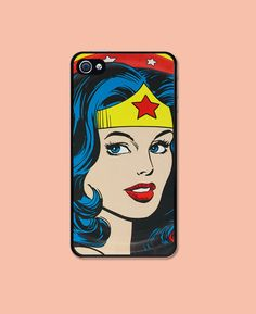 Wonder Woman Iphone case Iphone 4 case cool awesome by HappyWallz