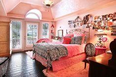 PINK!, zebra, princess room