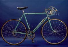 Bike of COPPI Fausto (ITA) Bianchi Ursus, Manufactured by BIANCHI in 1949  Photo : Yuzuru SUNADA
