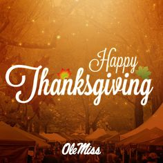 We'er thankful to all Rebel football fans out there and to all of