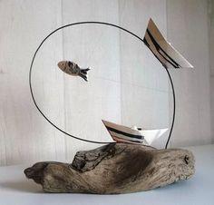 Καλλιτεχνικές κατασκευές από θαλασόξυλα