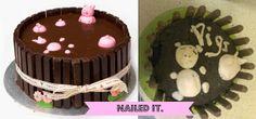 Pinterest Fail - Nailed It - Pig Cake DIY Sugar Craft www.helloterrilowe.com