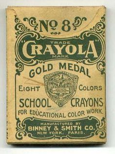Everyone loves crayons at one time or another. This is a chronological history of crayola crayons.