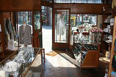 Authentic 1920 style clothes shop available to hire for period drama, music videos, and more. This london film location is highly versatile with owners who understand the filming process.