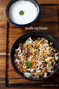 awadhi biryani recipe with step by step photos - aromatic, light, mild and a subtle flavored veg awadhi biryani or lucknowi biryani recipe.