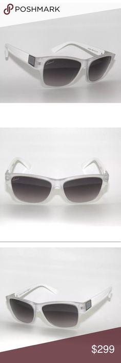 dd3aa93b4 New Gucci Sunglasses Matte Clear and white New Comes with Gucci case  Authentic Gucci Accessories Sunglasses