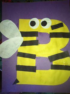 Miss Maren's Monkeys Preschool: Bumblebee Template