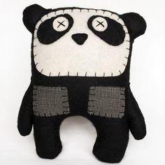 felt panda softie = party activity?