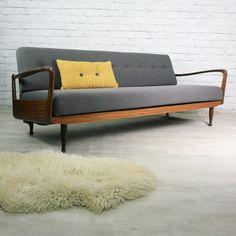 Vintage Greaves & Thomas Teak Sofabed