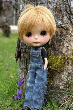 Boy blythe  Cutie Patootie! by sglahe, via Flickr