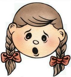 Resultado de imagen para cara de emociones para niños