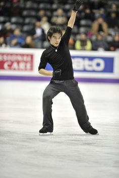 Takahito Mura (JAPAN) Plactice : World Figure Skating Championships 2013 in London(CANADA)