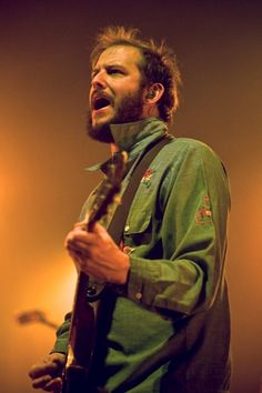 Justin Vernon from Bon Iver. lovelovelove. I love all of your shirts :)