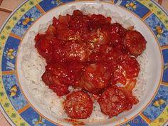 Rougail saucisse - Cuisine de la reunion