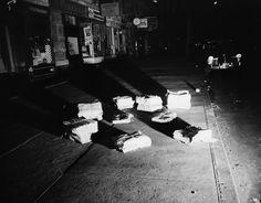 Weegee's Menacing New York Roger Mayne, Helen Levitt, Garry Winogrand, Morning Papers, Mary Ellen Mark, Eugene Smith, Weegee, Eugene Atget, Brassai