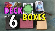 MTG - Deck Boxes 6: Ultra Pro, Legion, and Wyrmwood Deck Boxes for Magic...