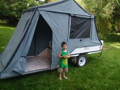 Post favorite pics of your rig and trailer - Page 113 - Expedition Portal Pop Up Tent Trailer, Tent Trailers, Diy Camper Trailer, Rv Campers, Land Rover Camping, Camping Glamping, Camping And Hiking, Camping Gear, Diy Roof Top Tent