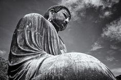 Big Buddha in Kamakura, Japan.