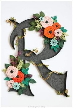 © Rhodanthe Kim- Quilled ABCs 1 (Searched by Châu Khang)
