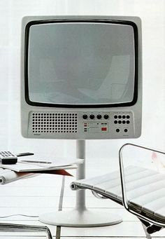 thezainist:  Hartmut Esslinger; #3062 Color Television Set for Wega, 1971.