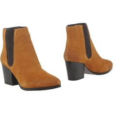 Bruno Premi Ankle Boots ($155) ❤ liked on Polyvore featuring shoes, boots, ankle booties, camel, camel ankle boots, ankle boots, leather boots, rubber sole boots and short leather boots