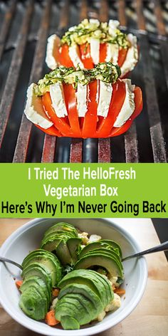 I tried the HelloFresh Vegetarian Box Low Carb Recipes, Diet Recipes, Vegetarian Recipes, Cooking Recipes, Healthy Recipes, Cooking Games, Cooking Classes, Cooking School, Lunch Recipes