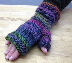 Fingerless or Full-Cover Mitts - your choice.