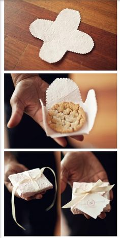 "Cookies wedding favor...I know the perfect ""sister in law to be"" to make these!!! @Sarah Chintomby Tuttle"