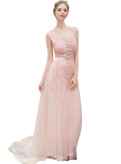 The dress is featuring floral lace paneled, v neck, sleeveless design, v back and slim fit design.