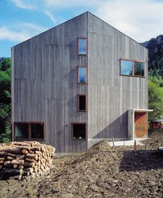 andgatherer:  House Willimann Lötscher by Bearth Deplazes