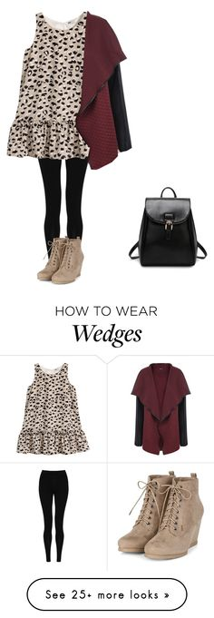 """""""#ootd"""" by amazingapoo on Polyvore featuring M&S Collection, H&M and WearAll"""