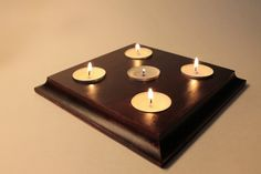 Check out this item in my Etsy shop https://www.etsy.com/listing/400101587/tea-light-candle-holder