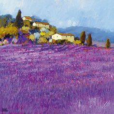 Wild Lavender, Provence Kunstdrucke von Hazel Barker bei AllPosters.de