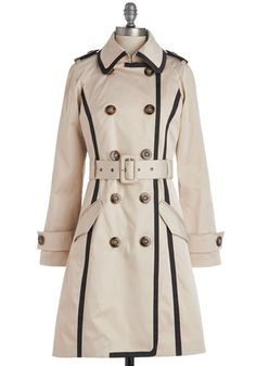 Adept Audition Coat. Youve rehearsed your lines and perfected your accent, now to fully channel the stylish character youre embodying in todays audition you slip on this chic trench coat by Kling! #tanNaN