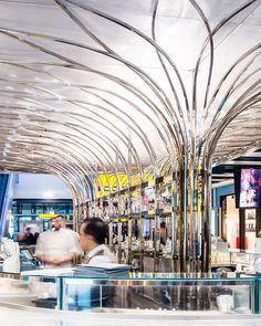 Fortnum & Mason, The Bar at T5 | Universal Design Studio