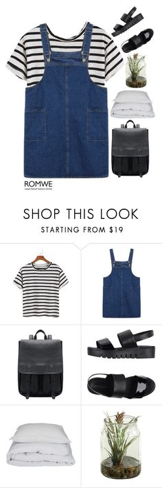 """""""#Romwe"""" by credendovides ❤ liked on Polyvore featuring Jeffrey Campbell and By Nord"""