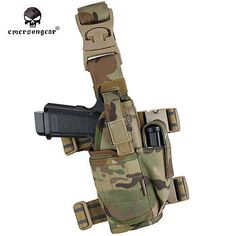 EMERSON Tornado Tactical Leg Holster Universal Pistol Drop Pouch 1000D 8 Colors