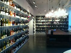 Delicious wine shop (also one in Chestnut Hill!)