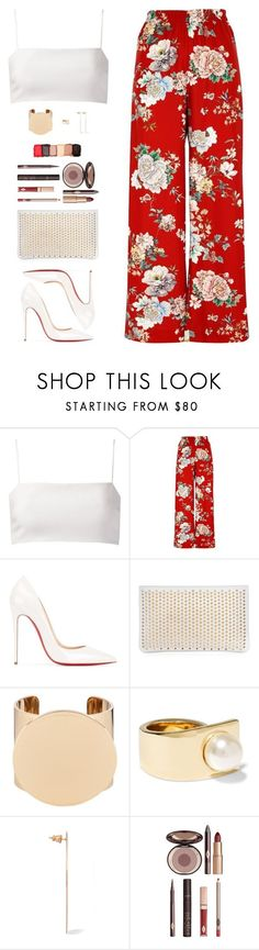 """Sin título #4568"" by mdmsb on Polyvore featuring moda, Giuliana Romanno, River Island, Christian Louboutin, Givenchy, Charlotte Tilbury y NYX"