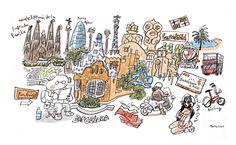 嗚呼バルセロナの画像:週間山崎絵日和