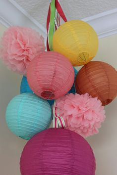 Hey, I found this really awesome Etsy listing at https://www.etsy.com/listing/158169319/candy-sprinkles-6-paper-lanterns-2