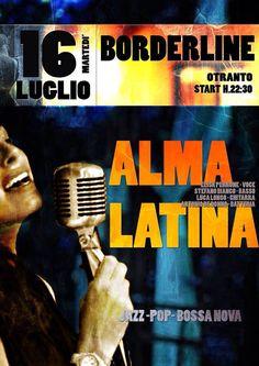 #Otranto, Borderline Cafè questa sera start ore 22.30, Spiaggetta Madonna dell'Alto Mare.  #Salento